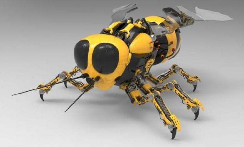 Marsbee.NASA sedang mengembangkan robot yang terinspirasi dari lebah. Robot ini nantinya akan diterbangkan ke Mars dan mengumpulkan semua informasi tentang planet merah tersebut. Marsbee akan bisa mendeteksi jenis tanah, kandungan metan dan kemungkinan untuk manusia tinggal di sana. Foto: India TV