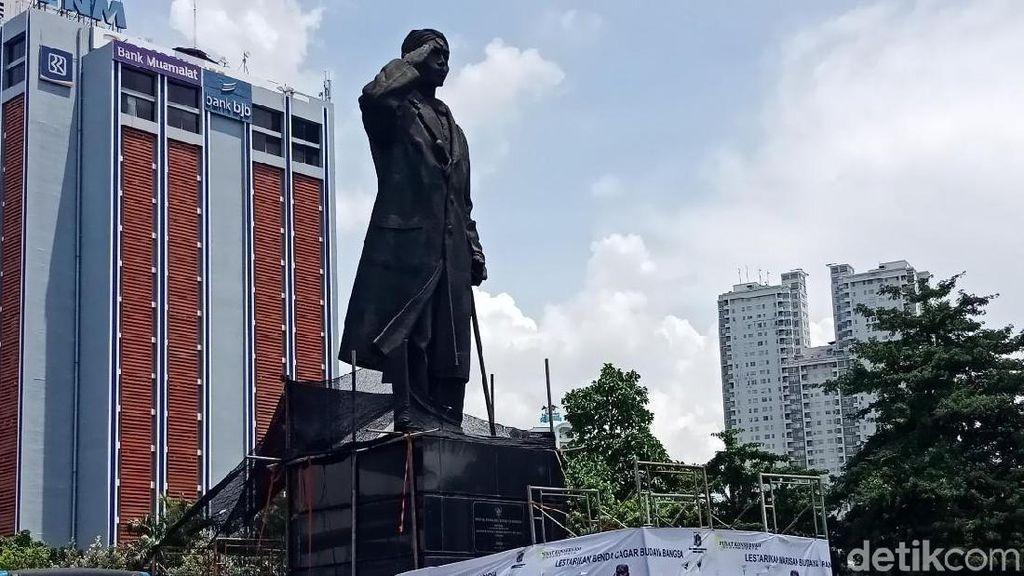 Patung Sudirman akan Dikonservasi Seluruh Tubuh Pekan Ini