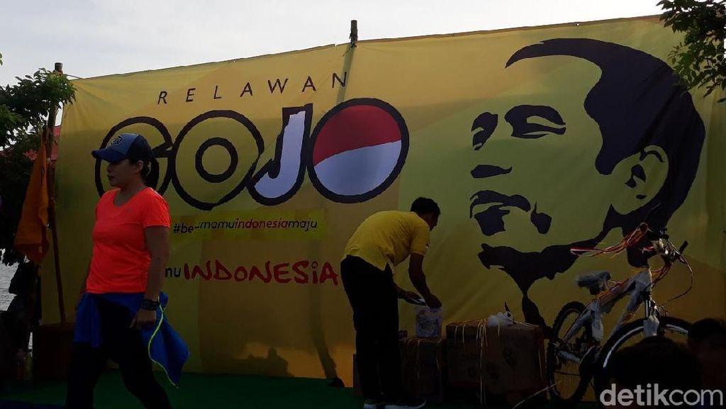 Gojo Bentukan Golkar Gelar Pengukuhan Relawan Kepulauan Seribu