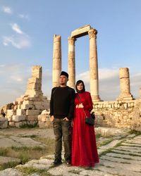 Ahmad Dhani di Amman Citadel ( mulanjameela1/ Instagram)