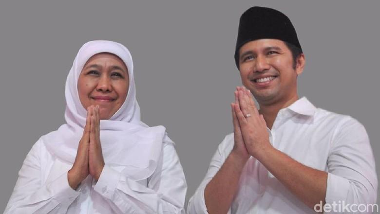 PD Tepis Hoax Khofifah Minta Dukungan Amien Rais-Habib Rizieq