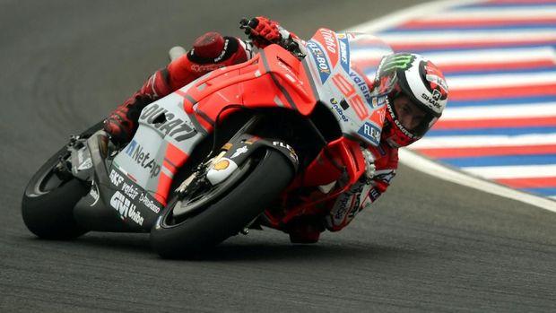 Jorge Lorenzo gagal mempertahankan posisi di Ducati.