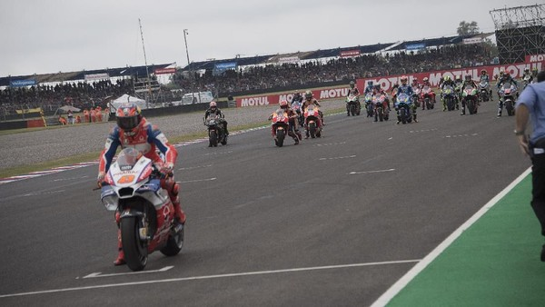 Insiden Start dan Penalti Ride Through yang Bikin Marquez Bingung