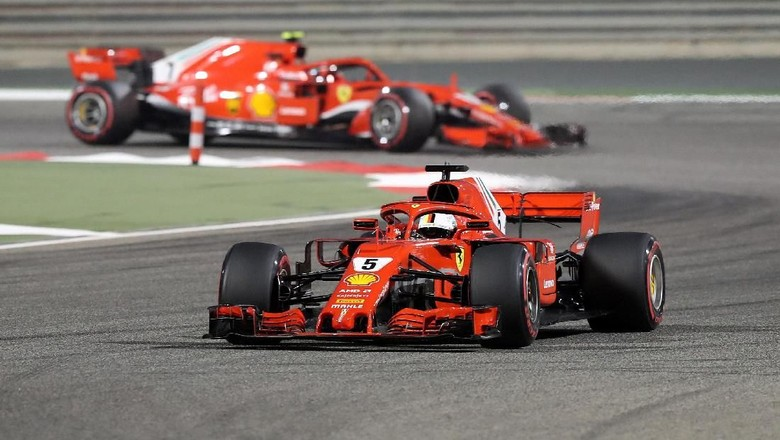 Hasil F1 GP Bahrain