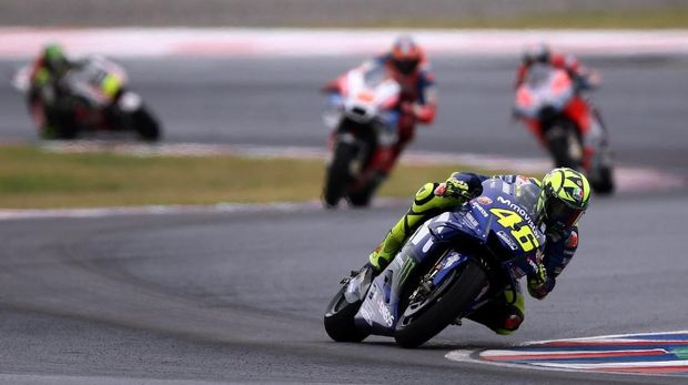 Hubungan Marc Marquez dengan Valentino Rossi sedang memanas.