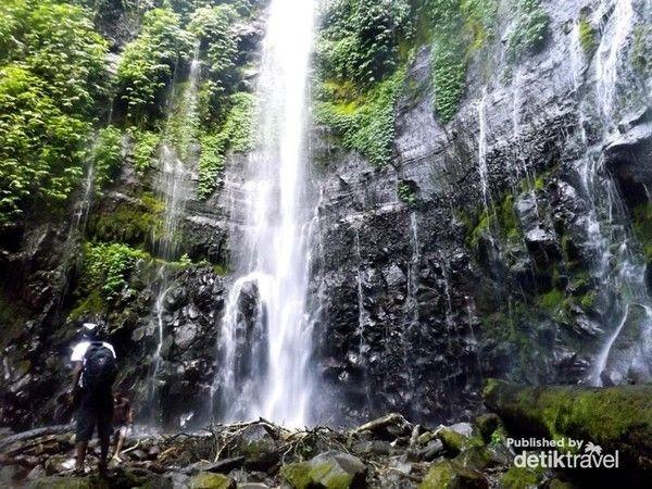 Letaknya ada di sekitar Gunung Ungaran. Curug Lawe ada di Desa Kalisidi, Kabupaten Semarang (Rivai Hidayat/dTraveler)