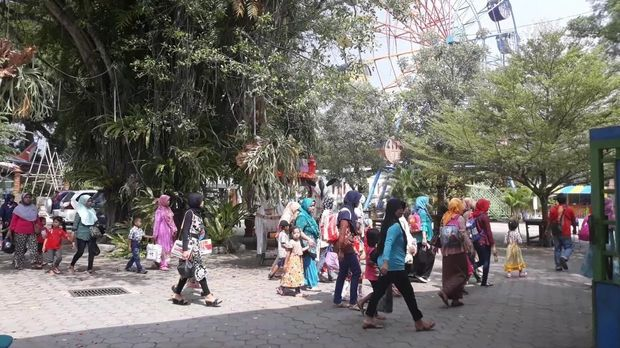 Madiun Umbul Square, Pemandian Air Hangat yang Pernah Mati Suri