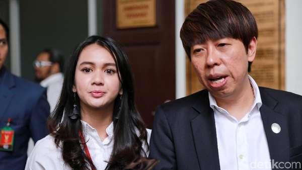 Keceriaan Dhea Annisa Sebelum Ditolak Jadi Saksi