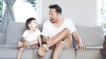 Curhat Ringgo Agus Selalu Gagal Ajak Anak Potong Rambut