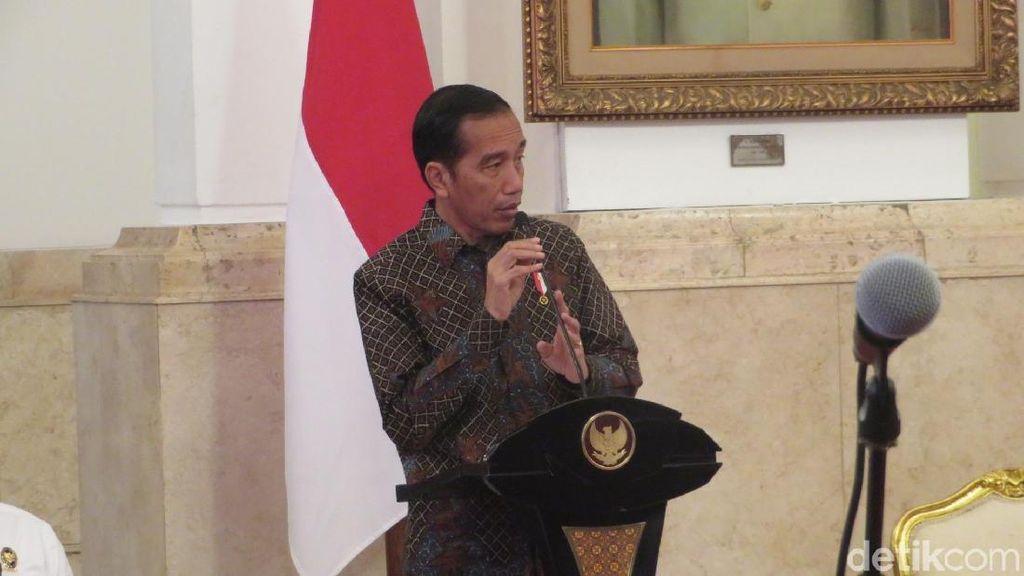 Jokowi Terima Broker Surat Utang Negara di Istana