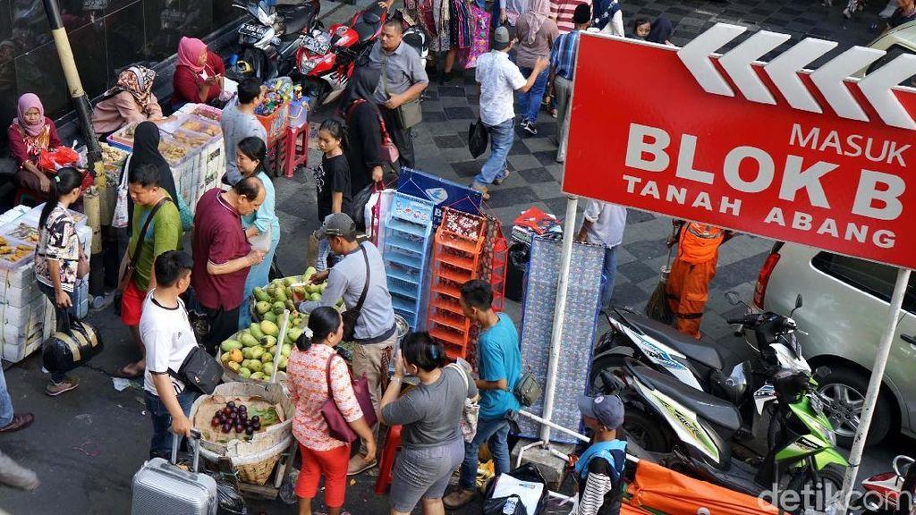 Kondisi Terkini Pasar Tanah Abang