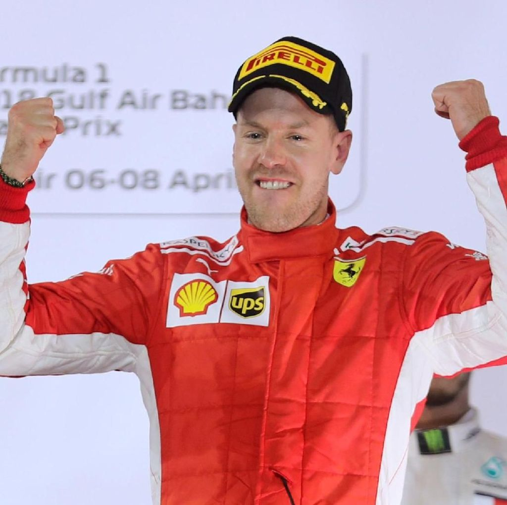 Vettel Menang Lagi