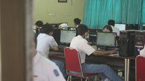 UNBK Hari Pertama di Surabaya, Tegang Hingga Lancar