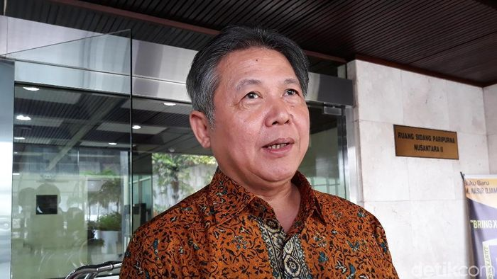 Foto: Ketua DPP PDIP Hendrawan Supratikno (Tsarina Maharani/detikcom)