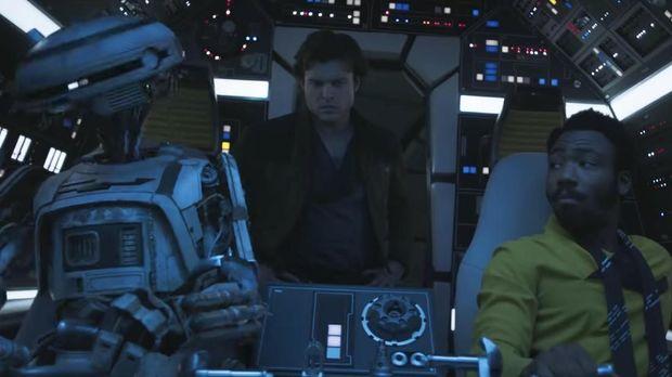 Han Solo muda di 'Solo: A Star Wars Story.'