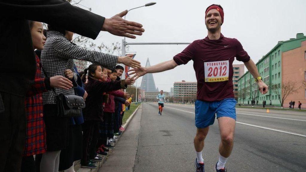 Maraton di Korut, Mengapa Jumlah Pelari Asing Merosot Jauh?
