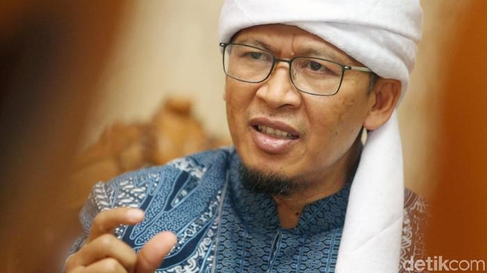 detikcom melakukan wawancara khusus dengan Abdullah Gymnastiar atau Aa Gym di Masjid Istiqlal, Jakarta, Minggu (8/4/2018).