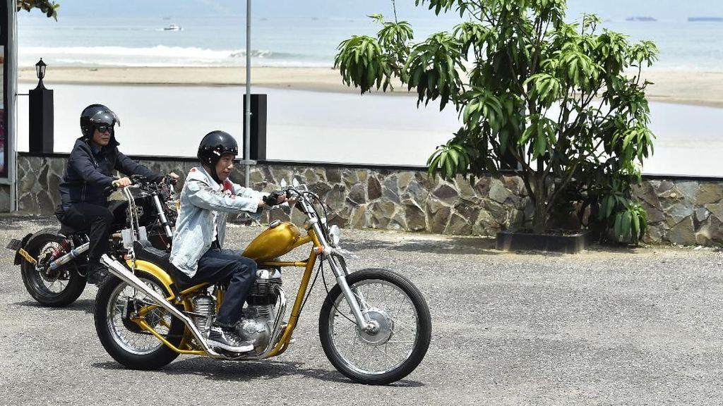 Jokowi Nggak Punya Yamaha Mio Lagi, Ini Gantinya