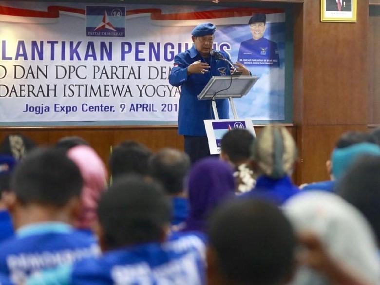 SBY Pimpin Rapat soal Capres hingga Koalisi PD, TGB Diundang