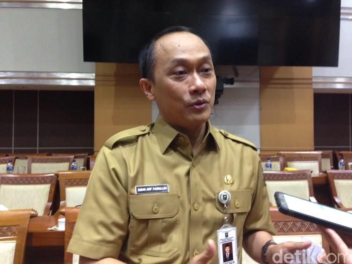 Dirjen Kependudukan dan Pencatatan Sipil Kementerian Dalam Negeri Zudan Arif Fakrulloh (Foto: detikINET/Agus Tri Haryanto)