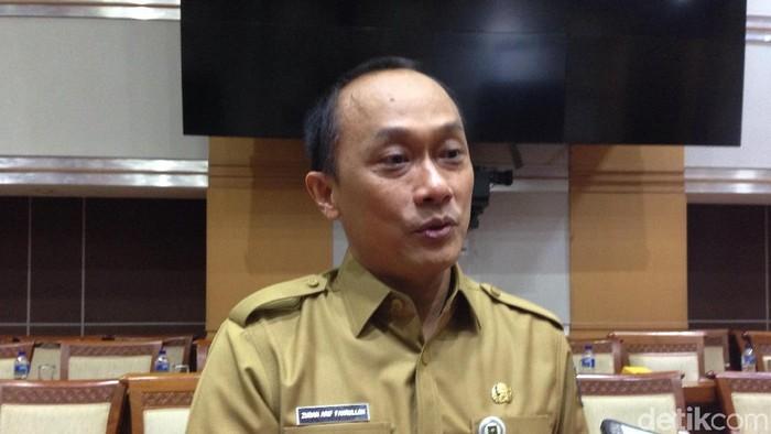 Dirjen Kependudukan dan Pencatatan Sipil Kementerian Dalam Negeri Zudan Arif Fakrulloh.