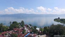 Foto Drone Danau Toba dan Pulau Samosir, Mesti Lihat!