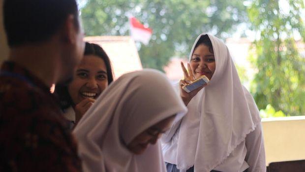 UNBK Hari Pertama di Surabaya, Siswa: Tegang dan Takut Salah Jawaban