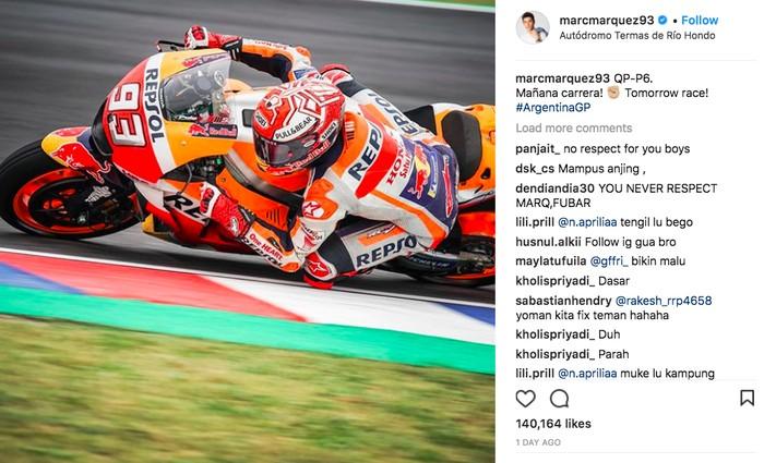 Marc Marquez. Foto: Instagram