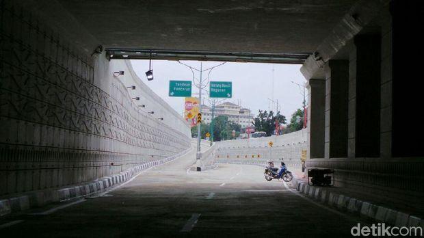 Jelang Open Traffic, Begini Kondisi Underpass Mampang Kuningan