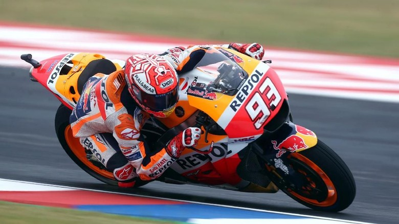 Marquez Berupaya Temui Rossi, tapi Dicegah