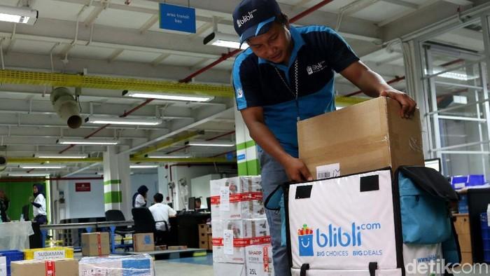 Kardus ramah lingkungan Blibli.com