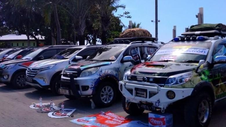 Mobil komunitas TeRuCI yang mengikuti Terufest. Foto: TeRuCI
