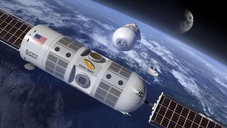 Hotel Aurora Station di angkasa luar (Orion Span)