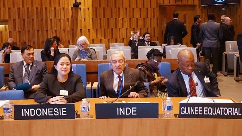 Puan Pimpin Delegasi Indonesia di Sidang UNESCO Ke-204
