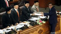 DPR Gelar Paripurna Perpanjangan RUU Terorisme