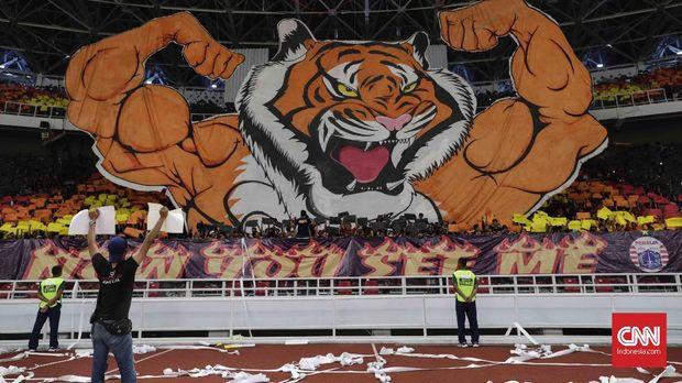 The Jakmania selalu memadati Stadion GBK ketika Persija berlaga di Piala AFC.