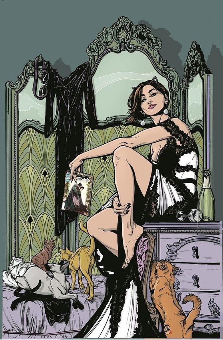 Catwoman Kembali di Seri Komik Terbaru