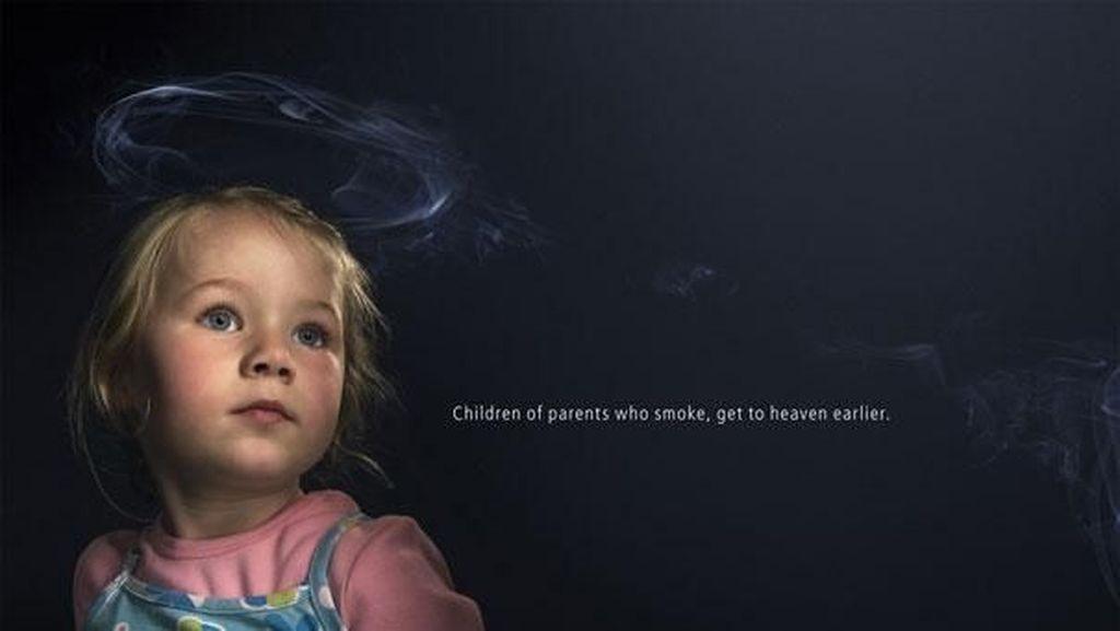 10 Iklan Kreatif yang Membujuk Orang-orang Agar Berhenti Merokok