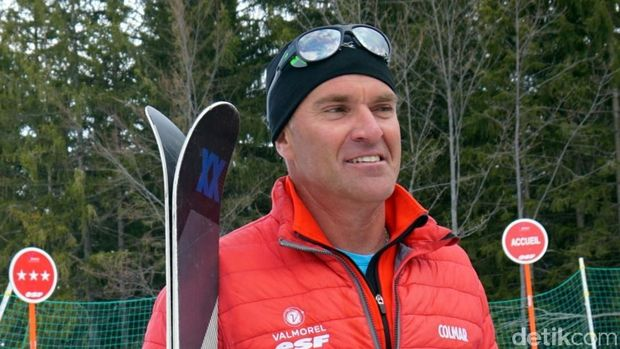 Yannick, sang instruktur ski (Wahyu/detikTravel)