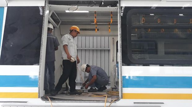 Kereta LRT untuk Asian Games Siap Dikirim