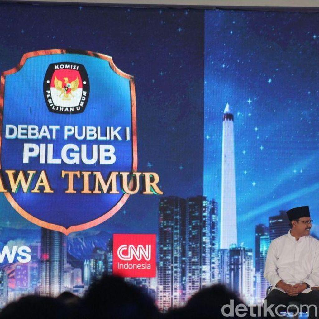 KPU Pilih Kasih Dalam Pemberian Hak Siar Debat Cagub Jawa Timur