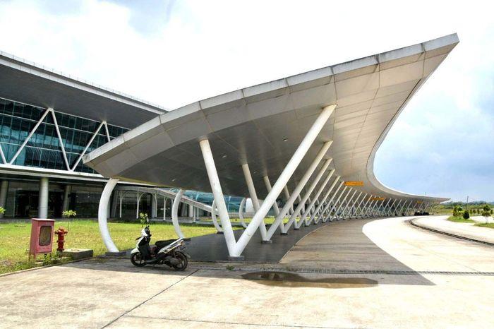Bandara itu akan menjadi pengganti operasional dari Bandara Temindung yang sudah tak layak digunakan. Pool/Ditjen Perhubungan Udara Kemenhub.