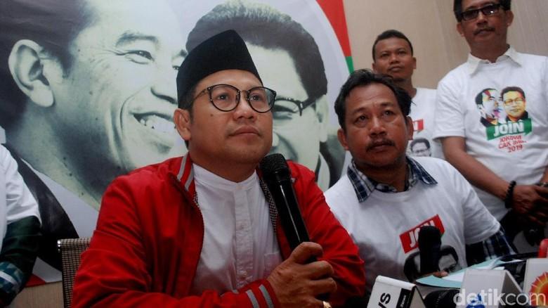 PKB Klaim Tetap Bareng Jokowi Meski Cak Imin Tak Jadi Cawapres
