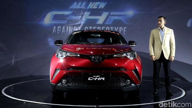 Toyota meluncurkan C-HR di Jakarta (Foto: Ari Saputra)