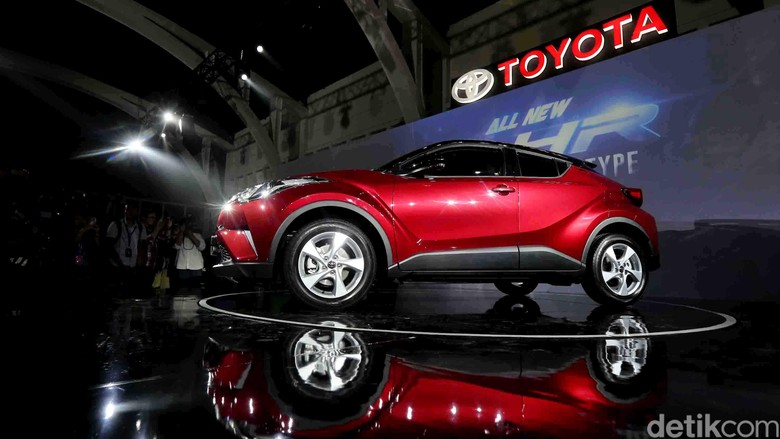 Toyota All New C-HR. Foto: Ari Saputra