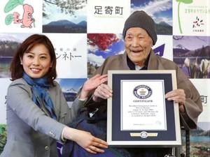 Pria Jepang Ini Jadi Manusia Tertua di Dunia