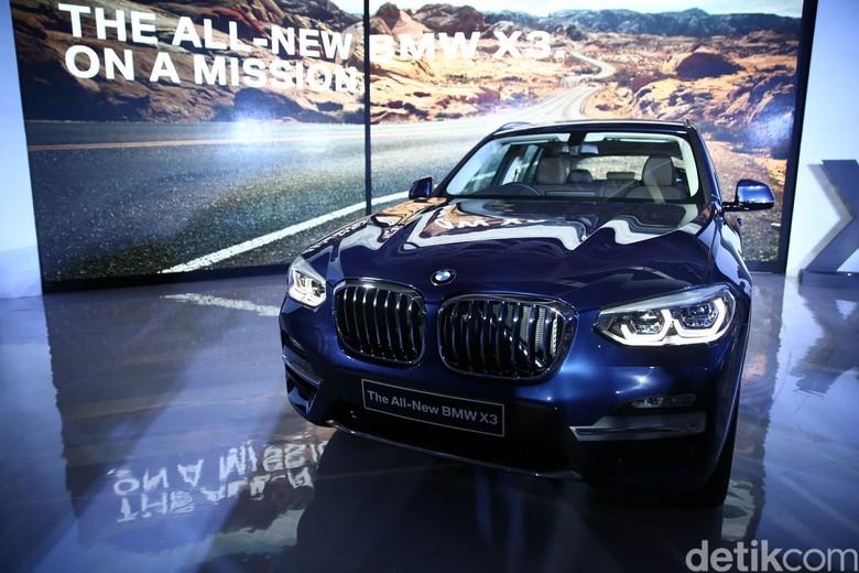 BMW X3 Terbaru Hadir di Indonesia. Foto: Agung Pambudhy