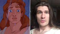 Foto: Pria yang Jadi Ganteng Mirip Pangeran Disney Setelah Turun 31 Kg