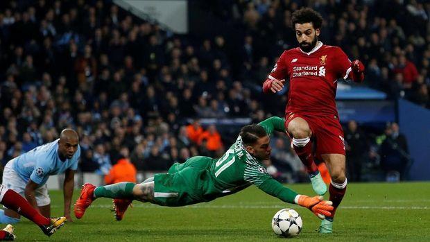 Mohamed Salah menyebut tujuan utamanya di akhir musim ini adalah menjadi juara Liga Champions.