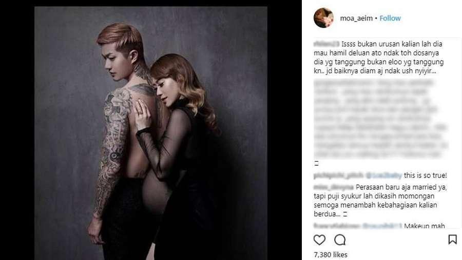 Ini Komentar Netizen di Foto Maternity Lee Jeong Hoon dan Moa